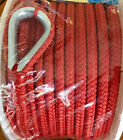 Seachoice Double Braided Nylon Anchor Line Boat 38 X 100 Ft Red 42171