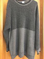 Columbia Sportswear Men's XXL Gray Knit Crew Pullover Sweater Color Block Cotton