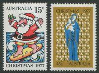 CHRISTMAS 1977 - MNH SET OF TWO (G98-RR)