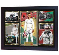 **** NEW FORMULA 1 World Champion Lewis Hamilton signed autographed print Framed