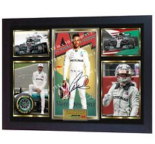 **** NEW FORMULA 1 World Champion Lewis Hamilton signed autographed print Framed