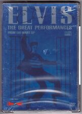 ELVIS PRESLEY : THE GREAT PERFORMANCES 🐝 FROM THE WAIST UP DVD OOP 2002 NEW!!