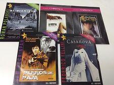 CASANOVA . PERROS DE PAJA . EL PIANISTA . BOLERO . LA BESTIA . PACK 5 DVD