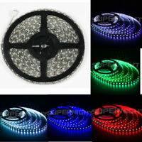 SUPERNIGHT® 32.8ft 10M RGB 5050 SMD 600 LED Strip Fairy Light Waterproof DC 24V