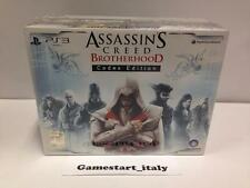 ASSASSIN'S CREED BROTHERHOOD CODEX COLLECTOR'S EDITION (PS3) NUOVA SIGILLATA NEW