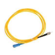 Single-mode Single Core Jumpers Fiber Optic Drop Cable SC-ST Yellow 3Meter