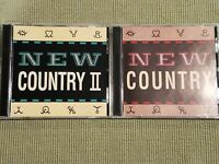 ENTERTAINMENT WEEKLY NEW COUNTRY VOLUME 1 & VOLUME 2 (50 TRACK 4 CD LOT)
