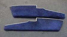 PORSCHE 911 930 G-Modell Türtaschen Türablagen Kartentaschen Blau mit Grau