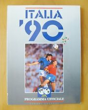 More details for 1990 world cup official programme / brochure italian edition *vg condition*
