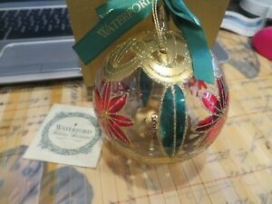 WATERFORD Holiday Heirlooms Collection Xmas Ornament 1999  Ball