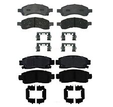 Front and Rear Ceramic Brake Pad Set Kit ACDelco For Buick Chevy GMC Saab Isuzu
