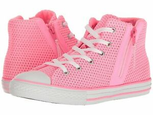 Converse Chuck Taylor All-Star Sport Zip Pink Glow/Neo Pink/White (TD)