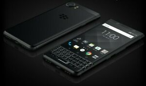 TWO BlackBerry KEYone BBB100-1 - 32GB - Black (Unlocked)