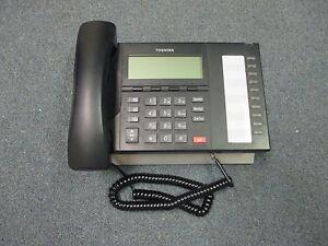 Toshiba Strata CIX IP 5022 SD IP VOIP 10 Button Display Speaker Telephone Black