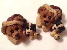 Boyds Bears & Friends Bearwear, Kringle & Northrup Christmas Pins - Lot of 2 new