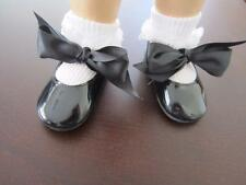 Black PATENT SPECIALTY DOLL SHOES Chatty Cathy  FREE SHIPPING