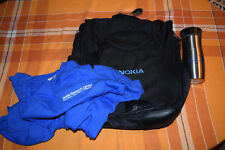 Nokia research center 25th anniv. laptop bag, koffee jug and t-shirt size L RARE