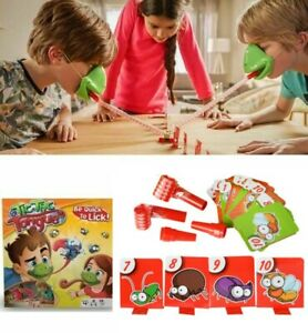 Tic Tac Tongue Chameleon Bug Catch Quick Draw Funny Game Family Kids Adult Party