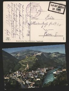 Austria WWI 1917 - Field Post Postcard Tirol E351