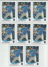 2013 Topps #232 Jake Odorizzi Rookie RC Lot 8 Cards