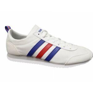 Adidas Vs Jog Fx0094 scarpe uomo ginnastica mesh bianco blu rosso