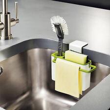 Suction Cup Base Kitchen Brush Sponge Sink Draining Towel Rack Washing Holder