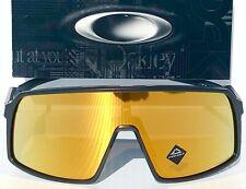 NEW* Oakley SUTRO Matte Black w 24K Gold Iridium w Case Sunglass 9406 Mahomes