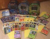 Pokemon Set/Sammlung über 300 Karten deutsch Plus holos und 3 Booster