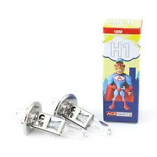 Citroen C3 Picasso H1 100w Clear Xenon HID High Main Beam Headlight Bulbs Pair
