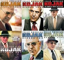 Kojak Complete Season Series 1-5 TV Films DVD Set TV Show Collection Episode Lot