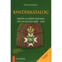 BÄNDERKATALOG Orden & Ehrenzeichen Deutschland 1800-1945