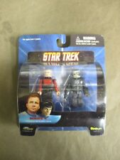 Star Trek Mini Mates Captain Picard & Borg Drone Series 4- NEW