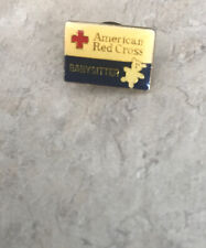 Vintage American Red Cross Babysitter Pin From Babysitter Safety Course
