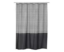 IKEA New Shower Curtain VADSJ N Dark Grey 180x180 Cm VADSJON UK N786
