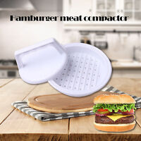 Plastic Burger Press Hamburger Meat Beef Grill Cooking Maker Kitchen Mold Useful
