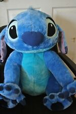 New Sold Out New DIsney Parks Jumbo Stitch Life Size Plush  Lilo and Stitch 27""
