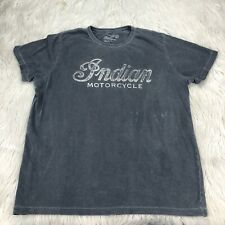 Lucky Brand Men's L California Fit Gray Triumph Motorcycle Graphic Tee