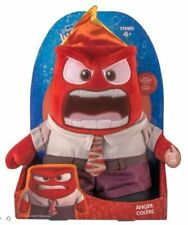 "TOMY Disney Pixar Inside Out Talking ANGER 9"" Sound Plush Doll Say 5 key phrases"