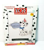 Disney 101 Dalmations Hungry Pup Counted Cross Stitch Kit Crafts Hobby
