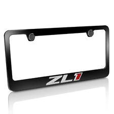 Camaro ZL1 Metal License Plate Frame - Black