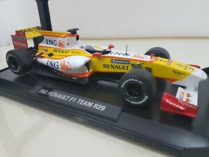 ING Renault F1 Team R29 #7 Alonso - 2009 - 1/18 NOREV - NO BBR CMC KYOSHO SPARK