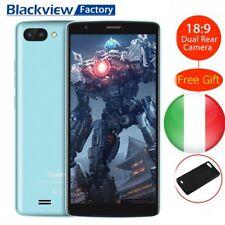 "Blackview A20 3G Smartphones 5,5"" 18:9 Android8.0 GO 8GB Quadcore Cellulare BLU"