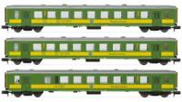 Arnold HN4209 N Gauge GYSEV Schlieren Coach Set (3) IV