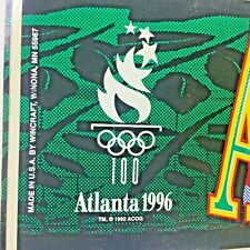 Official Licensed 1996 Atlanta Olympic Games Olympics Bumper Sticker Vintage