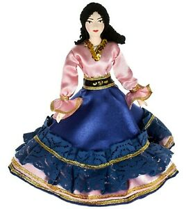 "Porcelain art doll ""Gypsy woman"" Handmade souvenir"