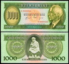 HUNGARY 1000 FORINT 1992D P176a UNCIRCULATED