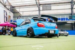 Subaru Impreza GD Voltex look rear bumper diffuser / undertray