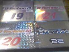 Gary D  D Techno  Vol.19,20,21,22  Sammlung sehr guter Zustand
