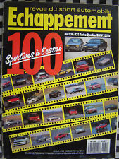 ECHAPPEMENT 1989 RENAULT 21 QUADRA + MAXI 5 TURBO GALPIN / SALON SPORTIVES