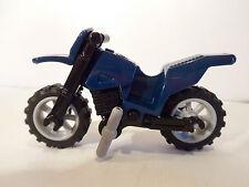 Lego Town/ City Motorbike - Dark Blue Dirt Bike Brand New - All New Pieces